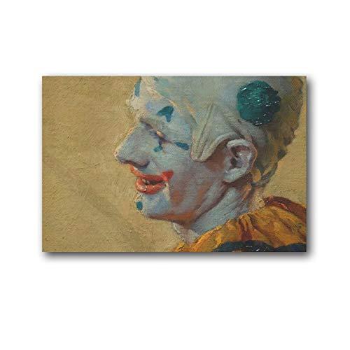 Norman Rockwell Clown-Poster, Leinwand, Wandkunstdruck, Poster, Geschenke, Foto, Bild, Gemälde, Poster, Raumdekoration, Heimdekoration, 60 x 90 cm