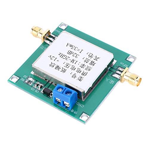 Verstärker Breitband, High-Gain-LNA-Verstärker, rauscharm mit abgeschirmtem Gehäuse 12V für FM-Radio-TV-Signalverstärker SDR-Kurzwelle