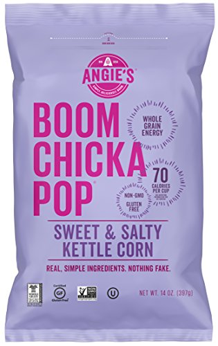 Learn More About Angie's BOOMCHICKAPOP Sweet & Salty Kettle Corn Popcorn, 14 oz.