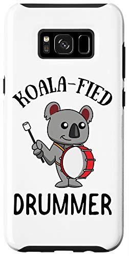 Galaxy S8+ Bass Drum Koala Gift | Koalafied Drummer Marching Band Case
