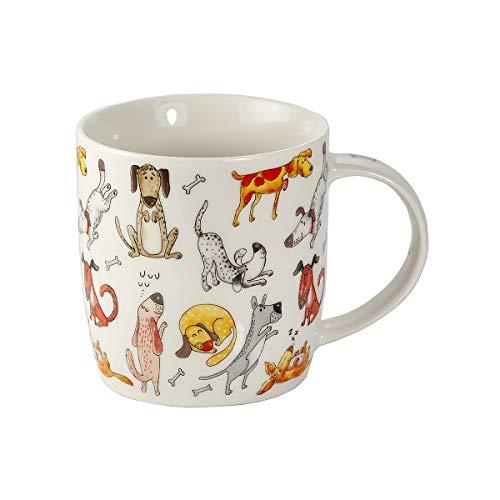 SPOTTED DOG GIFT COMPANY Tasse Hunde Schöne Kaffeetasse mit Hundemotiv Geschenk für Hundeliebhaber Hundebesitzer