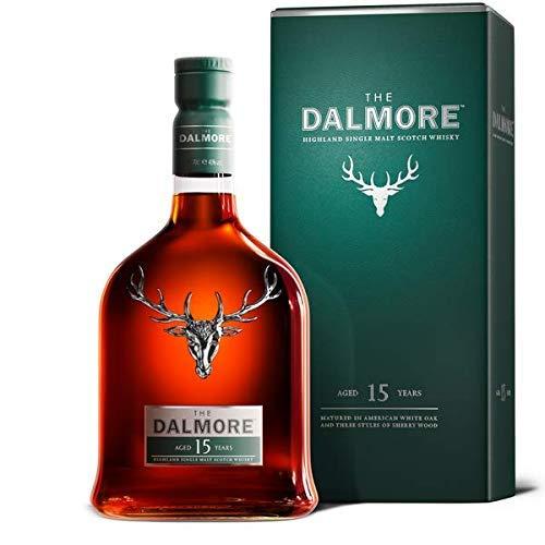 Dalmore 15 Year Old Single Malt Whisky, 0.7L