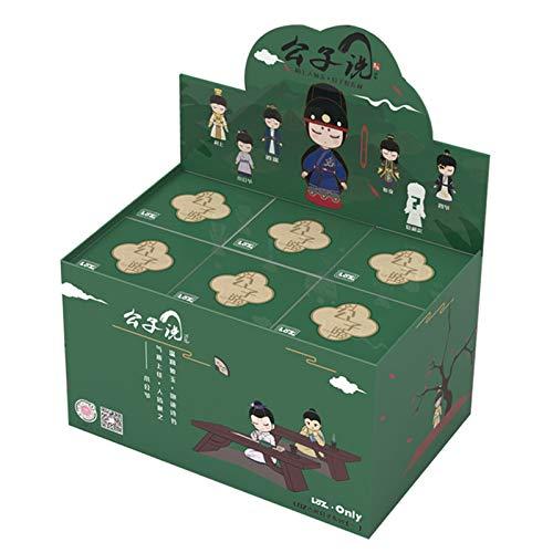 Caja ciega, Estilo Chino, Emperador de Estilo Antiguo, Juguetes Modelo Hechos a Mano, Regalos de Disfraces para nias