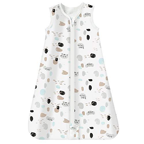 Mosebears Gigoteuse d'été pour bébé 0,5 Tog 100 % coton respirant Taille M (6-12 mois)