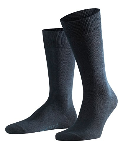 FALKE Herren Family M SO- 14645 Socken, Blau (Dark Navy 6370), 43-46 (UK 8.5-11 Ι US 9.5-12)