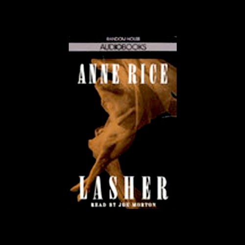 Lasher audiobook cover art