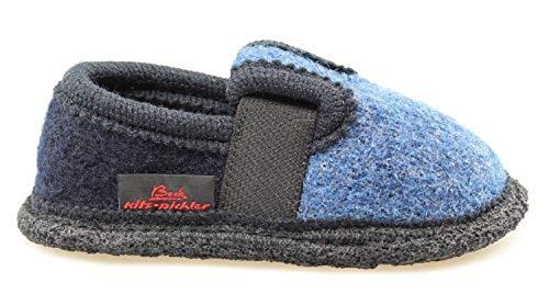 Beck Bobby 756, Unisex-Kinder Hausschuhe, Blau (blue), EU 27