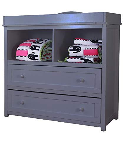 AFG Furniture Leila 2 Drawer Changer Gray