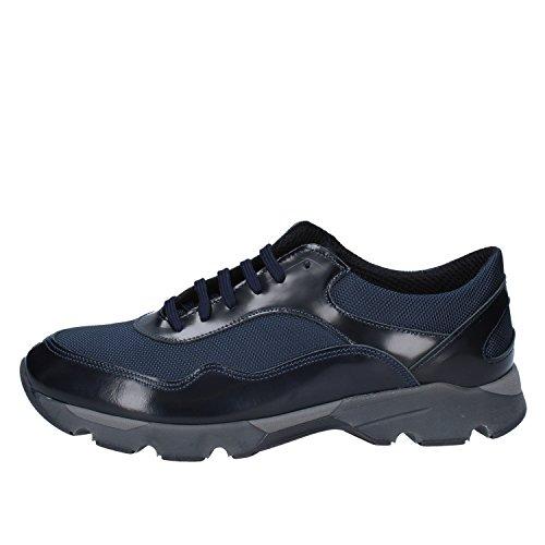 Baldinini Sneakers Herren Leder blau 43 EU