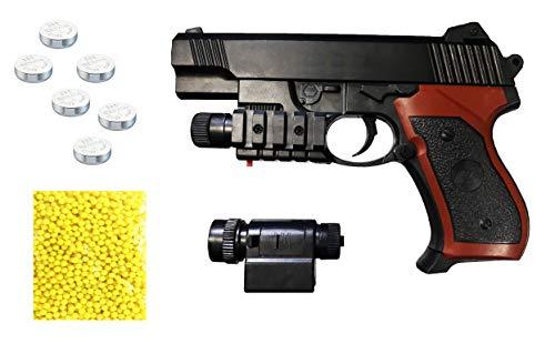 Amitasha Mouser Gun Long Range Target Toy Gun for Kids with 50 Bullets