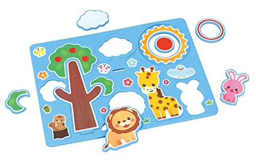 アーテック EVAパズルわなげ 6898 パズル 幼児 2歳から わなげ 柔らか素材