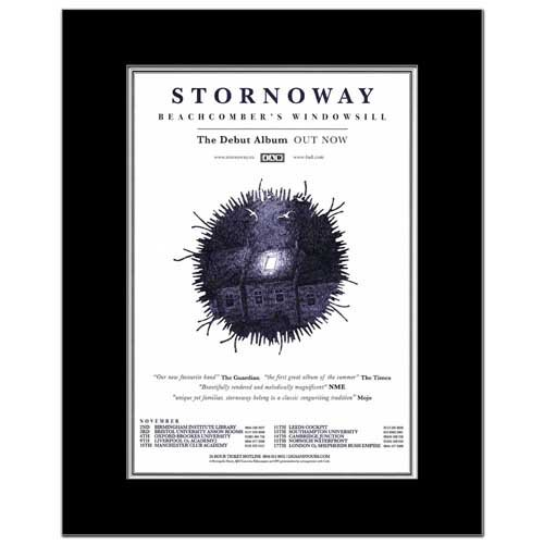 Music Ad World Stornoway Mini-Poster, Motiv Beachcombers Fensterbank, matt, 28,5 x 21 cm