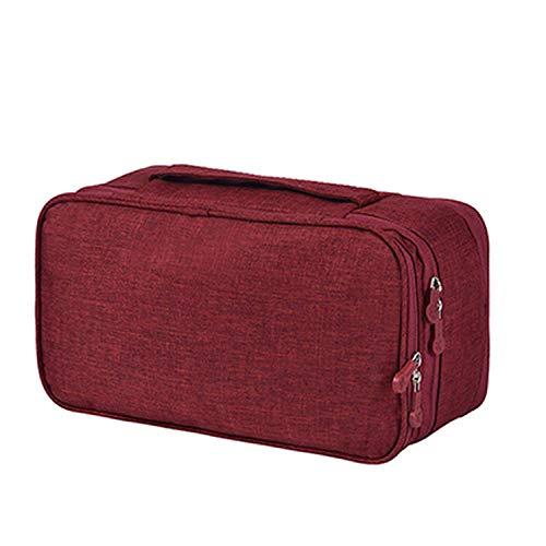 OneCherry shop Women Travel Bra Underwear Bag Multifunction Oxford Underwear Bra Organizer Bag Supplies Toiletries Storage Bra Holder Case,onesize,blue