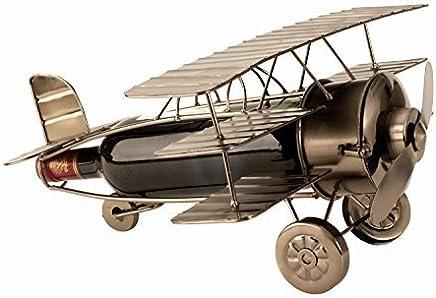 Miroir Mural argent/é /Ø 60 cm Aviator Industrial Design Airman