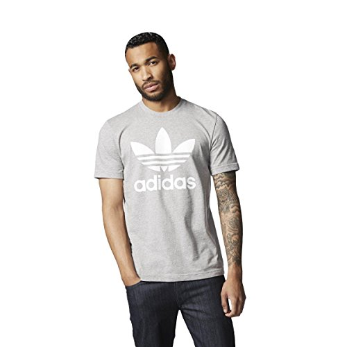 adidas Trefoil Camiseta medium grey heather