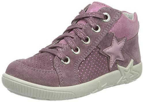 Superfit Baby Mädchen Starlight Lauflernschuhe Sneaker, Violett (Lila/Rosa 90), 23 EU