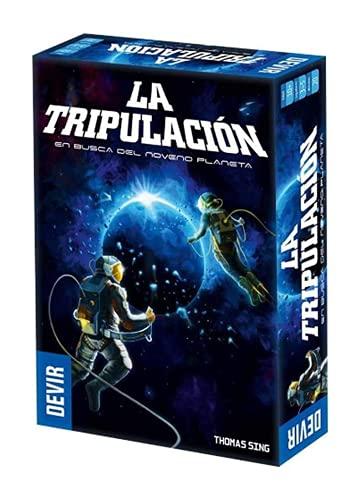 Devir-La Tripulación-En Busca del Noveno Planeta, Multicolor (BGTRIPSP)