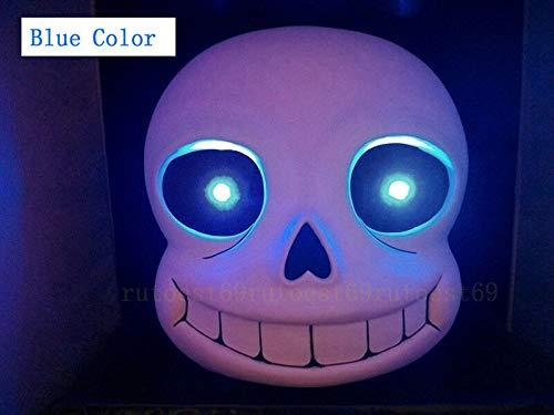 Fantastic Gift Undertale Sans Mask Wireless Remote Control LED Mask