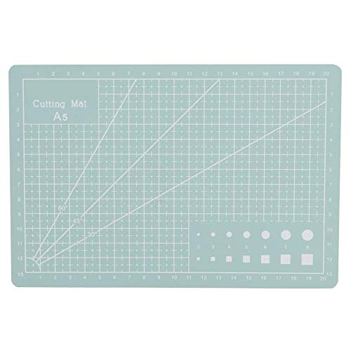 Atyhao Tabla de cortar A5, almohadilla de corte de PVC, almohadilla de corte de patchwork, herramienta para escritorio, trabajo manual y artesanía de cuero