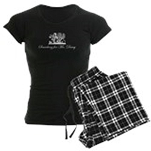 CafePress Jane Austen Gift Womens Novelty Cotton Pajama Set, Comfortable PJ Sleepwear