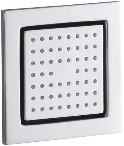 KOHLER K-8002-CP WaterTile Square Body Spray, Polished Chrome