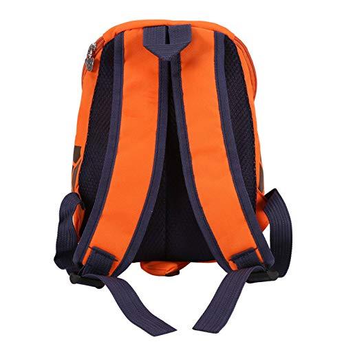 Mochilas para niños, mochila para niños con sujetadores ajustables para la escuela para niños(Bright Orange)