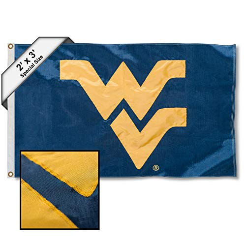 College Flags & Banners Co. West Virginia Mountaineers 2x3 Foot Embroidered Flag