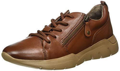 Jana 100% comfort Damen 8-8-23730-25 Sneaker, Chestnut, 44 EU