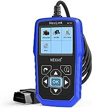NEXAS Heavy Duty Truck Scanner NL102 OBD/EOBD+HDOBD Diagnostic Scanner Scan Tools Engine ABS Transmission Check Trucks & Cars 2 in 1 Codes Reader[Upgrade Version]