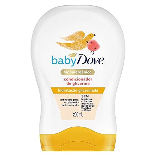 Condicionador de Glicerina Baby Dove Hidratação Glicerinada 200ml