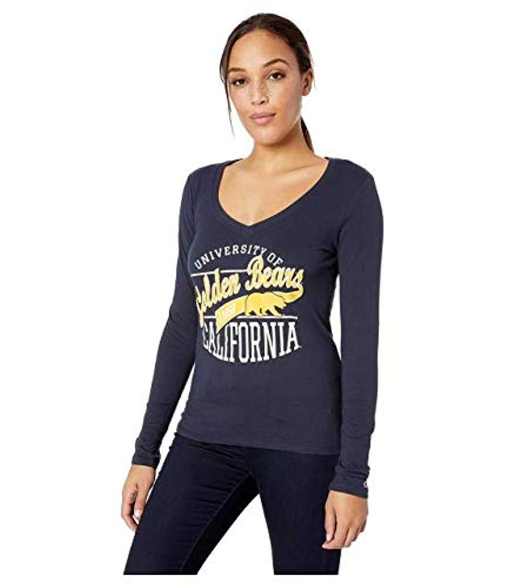 定説あえてラケットChampion College Cal Bears University V-Neck Long Sleeve Tee 服 【並行輸入品】