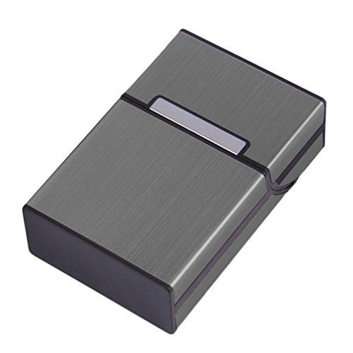 rongweiwang Leichte Aluminium-Zigaretten-Zigarre-Kasten-Taschen-Kasten-Behälter-Zigaretten-Aufbewahrungsbehälter für die Lagerung von Zigarren-Halter