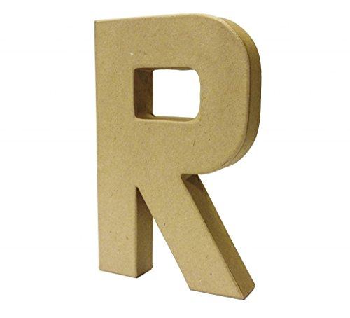 Papier Paper Mache Large Letters 20.5cm - Cardboard Craft (R)