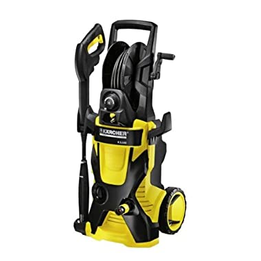 Karcher K5.540 Electric Power Pressure Washer with Hose Reel & Detergent Tank, 2000 PSI, 1.4 GPM