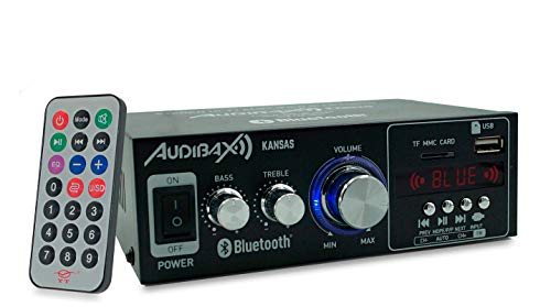 Audibax Kansas Amplificador HiFi Bluetooth / MP3