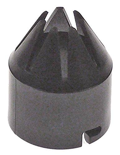 Garniertülle für Sahnemaschine Aussen 32mm Innen ø 25mm Länge 38mm
