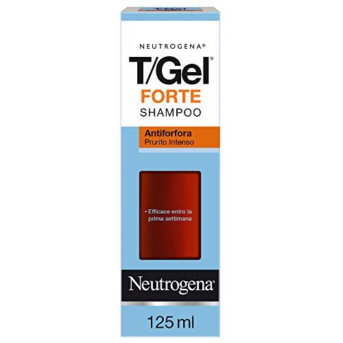 Neutrogena T Gel Forte Shampoo Antiforfora, 125 ml