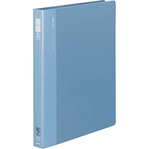 コクヨ ファイル リングファイル A4 青 フ-F470B