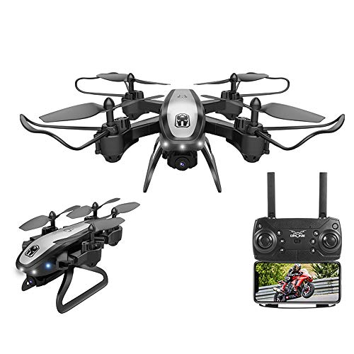 Affordable 2019 New KY909 Foldable Professional Mini Drone for Kids Beginner with Camera 1080P HD Vi...