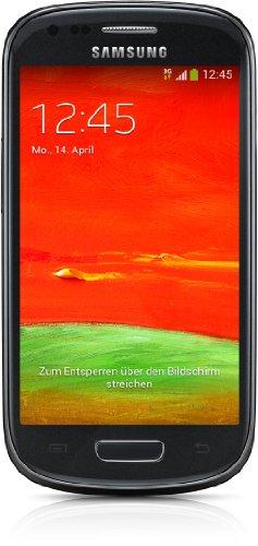 "Samsung Galaxy S III mini - Smartphone libre Android (pantalla 4"", cámara 5 Mp, 8 GB, Dual-Core 1.2 GHz, 1 GB RAM), negro- Versión Extranjera"