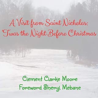A Visit from Saint Nicholas: 'Twas the Night Before Christmas cover art