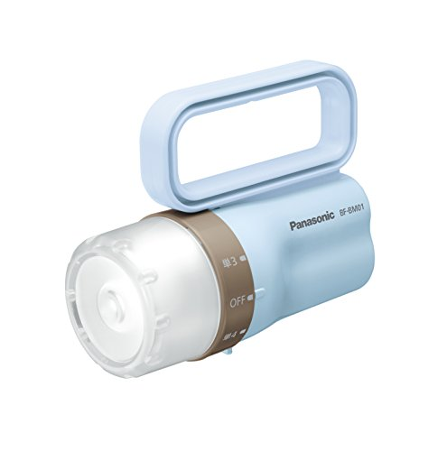 パナソニック LED懐中電灯 電池がどっちかライト ペールブルー BF-BM01/PA