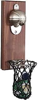 Dasing Kreativ karikatyr multifunktionella flaskor ? Ffner vägghållare basketboll ? Fner inbyggd massiv trä kylskåp magnet...