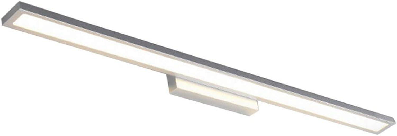 Scofeifei Einfaches modernes Toiletten-wasserdichter Spiegel-Scheinwerfer LED Badezimmer-Spiegel-Licht (Farbe   Warm Light-10w40cm, Gre   -)