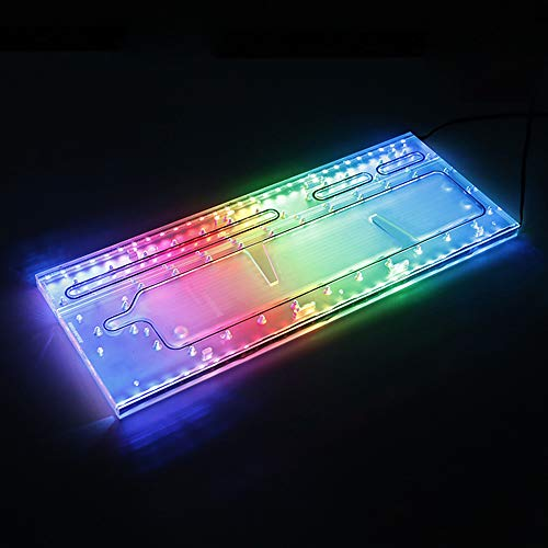 Barrow LRC RGB Acrylic Distro Distribution Plate Waterway Boards for Computer TT Core P90TG Water Cooling Case