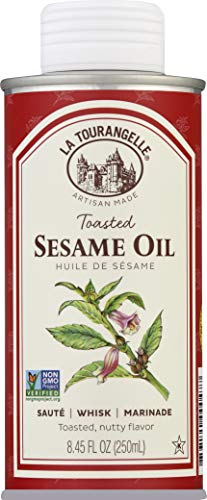 La Tourangelle, Toasted Sesame Oil, 8.45 Ounce (Packaging May...