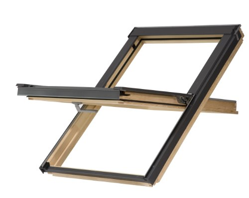 Dachfenster Balio Schwingfenster mit Eindeckrahmen 66x112 cm (VKR Konzern Rooflite Velux)