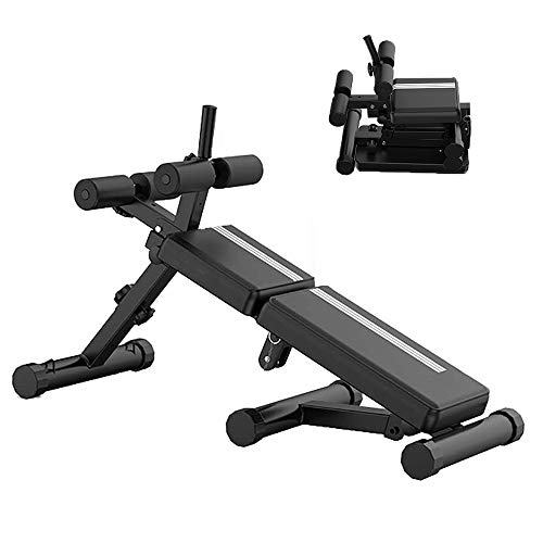 Trainingsbank Klappbar,Schrägbank Hantelbank Heavy Duty Bench Fitness Equipment Für Ganzkörpertraining