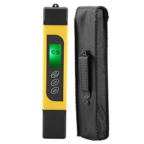 【𝐂𝐡𝐫𝐢𝐬𝐭𝐦𝐚𝐬 𝐆𝐢𝐟𝐭】 Digital Water Quality Tester, 3 in 1 LCD-Display Wasserqualität Tester TDS Reinheitsmessgerät 0-99 ℃
