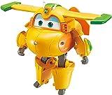 Super Wings- Transforming Bucky Supercharged-Personaje Transformador de 12,7 cm, Color Amarillo (Alpha Animations EU740273)